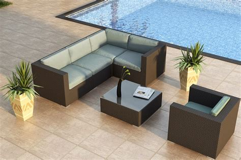 discount patio sectional discount 30 harmonia living urbana 5 piece modern patio