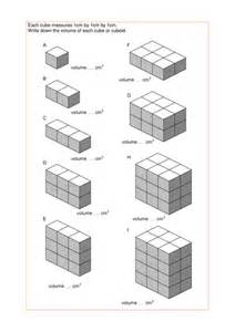 maths ks2 ks3 ks4 foundation volume of cuboids with a