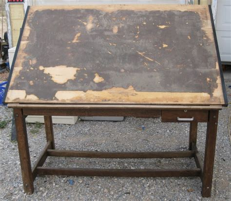 anco bilt vintage drawing art drafting table 1960s