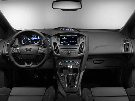 ford focus interior 2016 2016 ford focus st price photos reviews features
