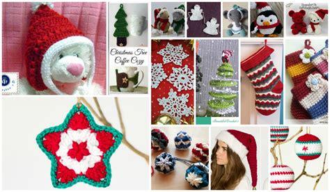 free christmas decorations to make crochet ornaments 15 free festive patterns interweave