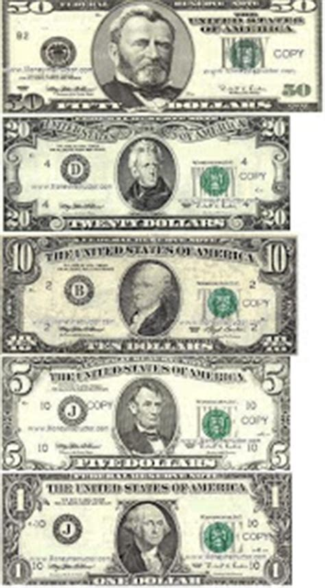 How To Make Paper Money That Looks Real - printable money free printable money template