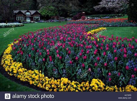 Stanley Park Vancouver Bc British Columbia Canada Garden Flowers Vancouver