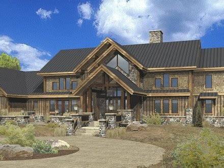 large estate house plans large one story log home floor plans 2 story log cabin