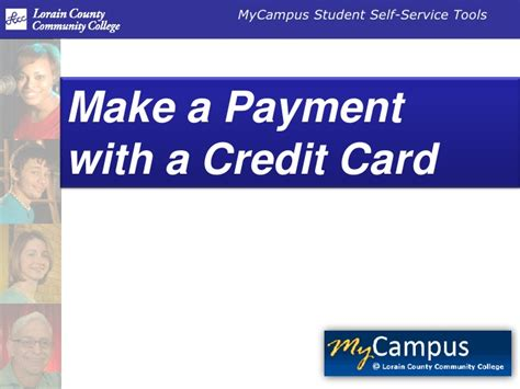 make credit card payments make a credit card payment