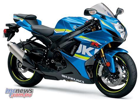 Motorrad Suzuki Forum by 2018 Suzuki Gsx1300r Gsx R750 Gsx R600 Mcnews Au