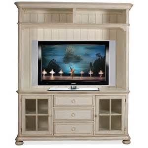 tv console and hutch placid cove 69 quot tv console and hutch by riverside home