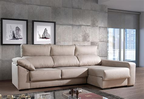 muebles santana muebles sof 225 s sof 225 tela sof 225 con chaisse longue santana
