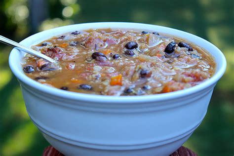 protein lentils protein black bean and lentil soup