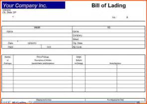 doc 400518 blank bill of lading template bill of