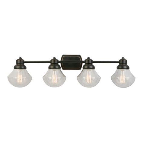 home depot bathroom lighting bronze titan lighting kensall green 1 light oil rubbed bronze