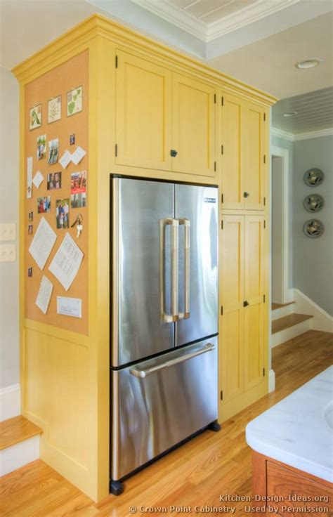 kitchen cabinet refrigerator build around refridgerator 1920 s kitchen redo pinterest