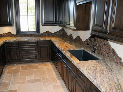Oil Rubbed Bronze Pull Down Kitchen Faucet by Simple Kitchen Design With Granite Countertop Edges