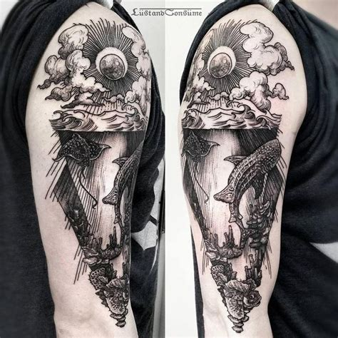 underwater sleeve tattoo designs 25 best ideas about underwater on