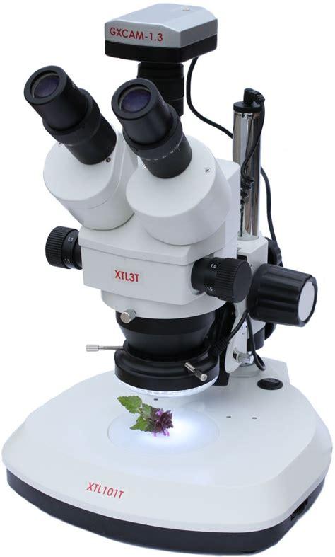 Zoom Stereo Microscope Xtl 2600 7x 45x trinocular xtl stereo zoom microscope gt vision