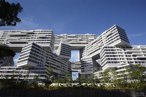 appartments in singapore the interlace an apartment complex in singapore by oma