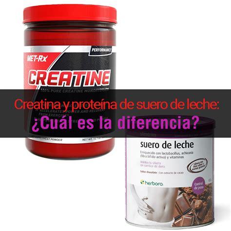 proteina y creatina creatina y prote 237 na de suero de leche 191 cu 225 l es la