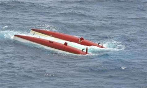 two sailors rescued after catamaran capsized by whale ybw - Catamaran Capsize In Cape Town
