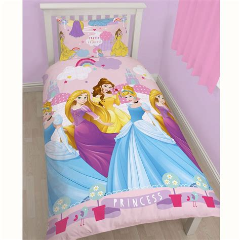 Princess Bed Cover Set Disney Princess Duvet Cover Bedding Sets Single Junior Sizes Ebay