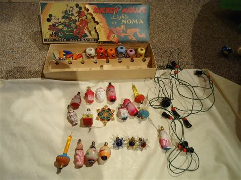 celebrations antique christmas lights disney mickey mouse lights and more sweet c s collectibles ruby