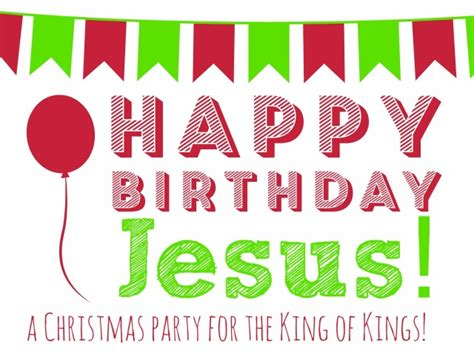 christmas baby jesus party for kids happy birthday jesus