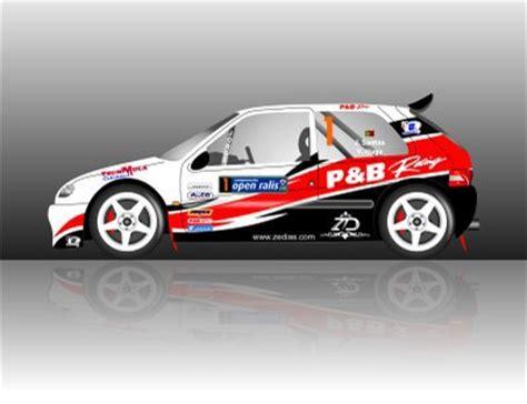 deco kit cars id 233 e d 233 co 1 rally crash