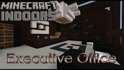 executive office minecraft indoors interior design youtube