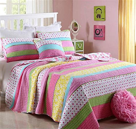 best kids bedding best comforter set 2 pieces bedding set pink dot striped