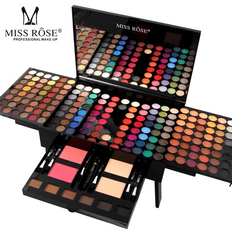 Make Up Wardah Fullset miss professional makeup palette sets for lip eyeshadow powder