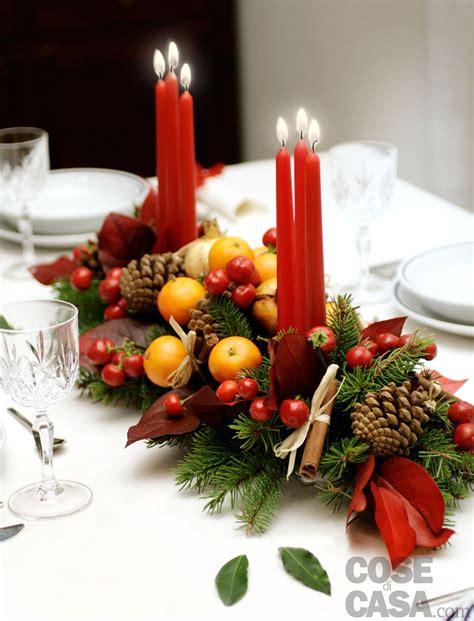 centro tavola candele il centrotavola delle feste cose di casa