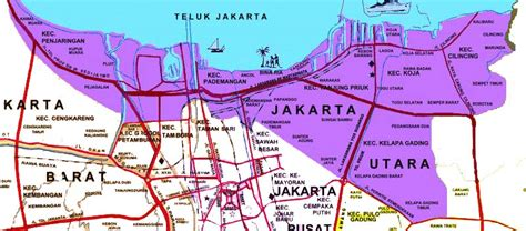 jakarta pusat map ancol map check out ancol map cntravel