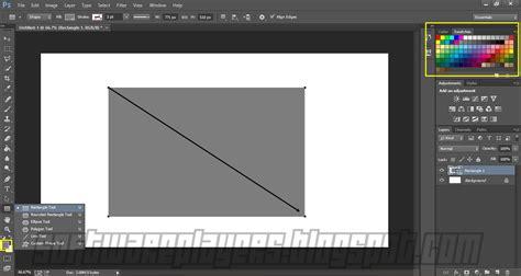 membuat garis persegi di photoshop belajar teknik dasar membuat bentuk pada photoshop