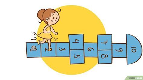 imagenes de niños jugando la rayuela c 243 mo jugar a la rayuela 9 pasos con fotos wikihow