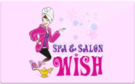 spa and salon wish gift card check your balance online raise com - Wish Gift Card Balance