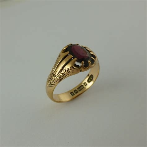 Antique Rings by Antiques Atlas Large Size Antique Garnet Ring