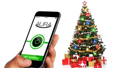 aura christmas tree lights to spruce up your home