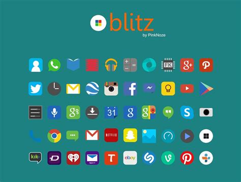 blitz free icon pack download