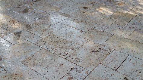 cleaning outdoor travertine patio dallas travertine marble polishing dallas dfw tile