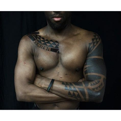 arm and chest blackwork tattoo best tattoo ideas gallery tattoo sleeve chest and sleeve triangles blackwork
