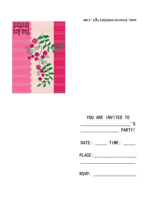 birthday party invitation template word musicalchairs us