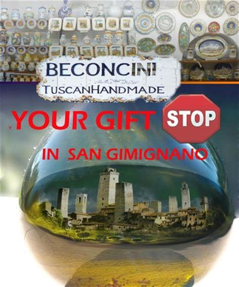 Shop Handmade Reviews - beconcini tuscan handmade san gimignano italy top tips