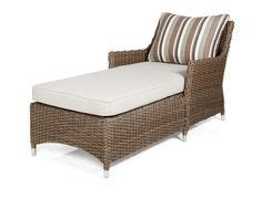 Chaise Longue Osier by Home Studio Glenna 7 Pce All Weather Resin Wicker Dining