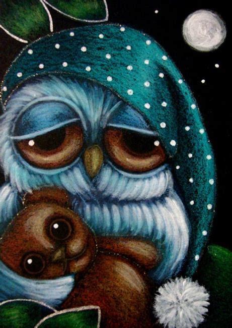 Sleepy Owl sleepy owl with teddy by cyra r cancel from