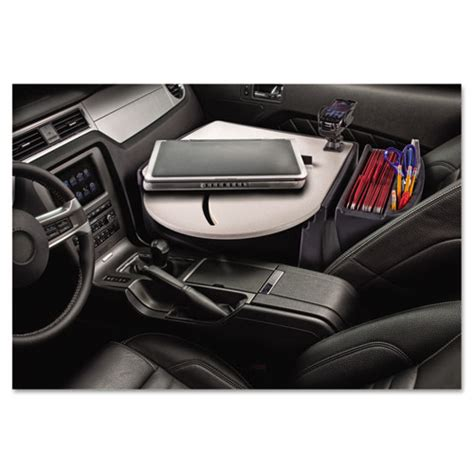 Car Desk Organizer Aue39000 Autoexec 174 Car Desk With Laptop Mount Zuma
