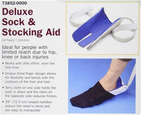 sock aid invention 10 simple dressing aids help seniors stay independent dailycaring