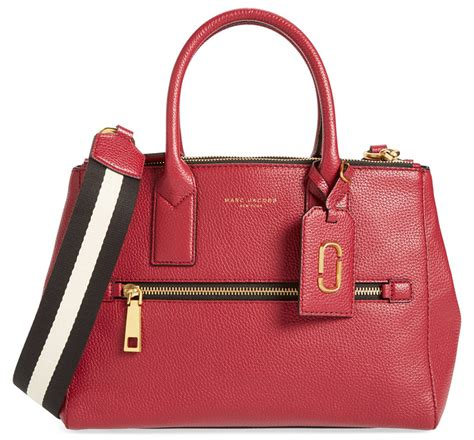 Marc Two Pocket Handbag by Marc Debuts New Handbag Line With Newly
