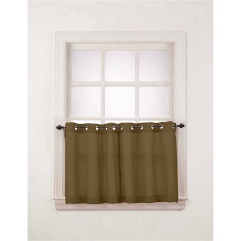 cafe kitchen window curtains walmart