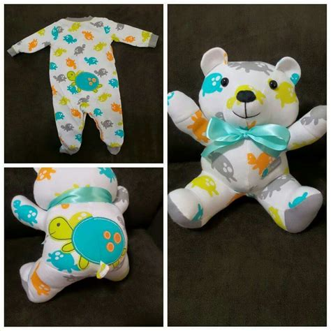 Handmade Memory Bears - how to make memory teddy bears from clothing 5 diys