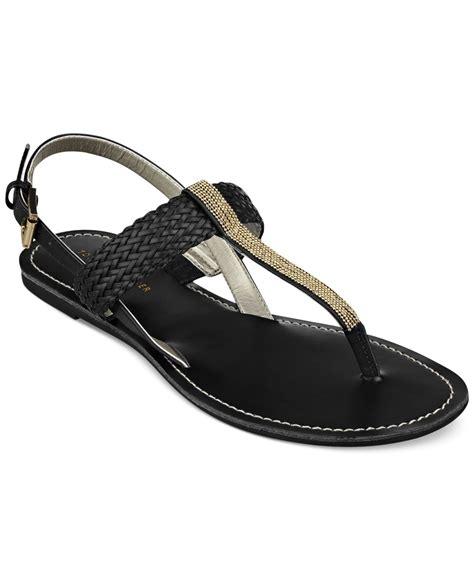 hilfiger sandals hilfiger s lorida ankle sandals in black