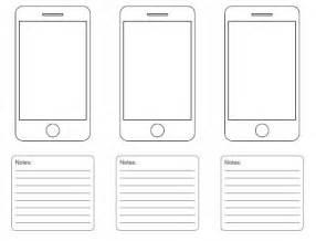storyboard template app mobile screen design templates digilearner